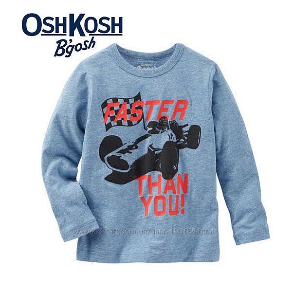 Реглан, футболка с длинным рукавом OshKosh 10 Т оригинал из Америки