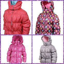 Демисезонные куртки на девочку на рост 80-100 см Чехия. Sale -50