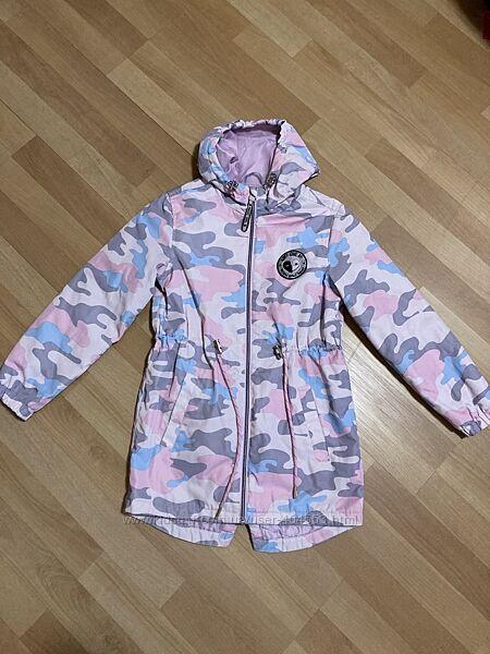 Демисезонная куртка парка на девочку Ostin р.134