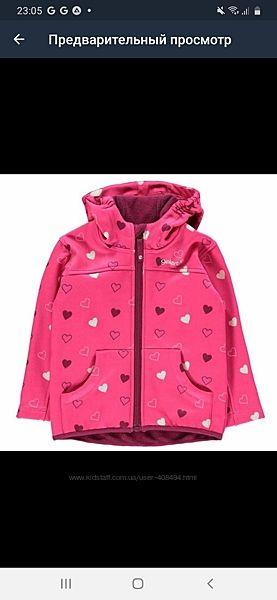 Куртка для девочки gelert