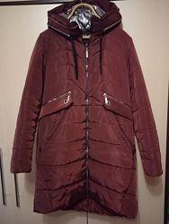Зимняя куртка пальто р.46-48