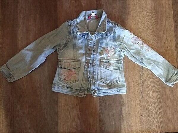 Джинсовая курточка рост 116