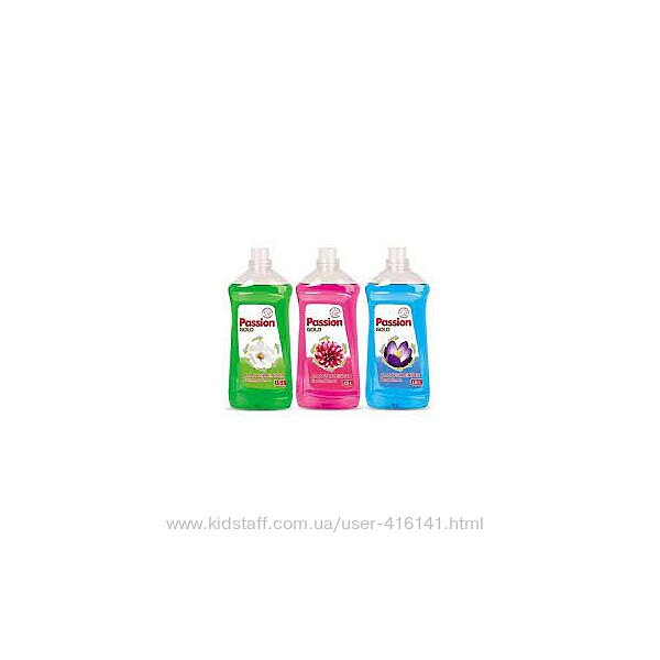 Средство для мытья полов PASSION GOLD 1.5л