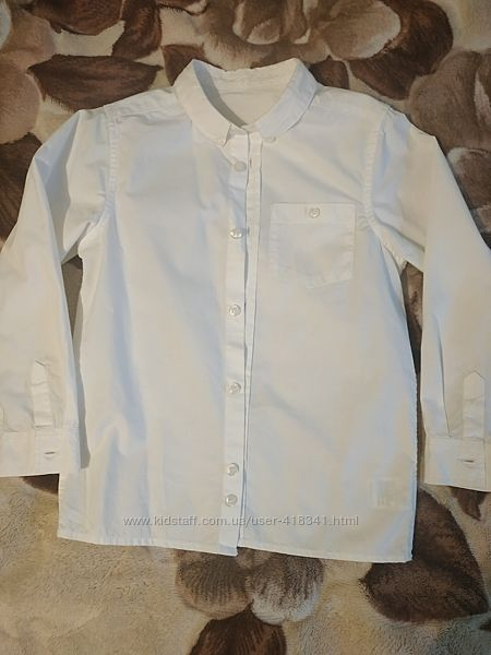 Рубашка Mothercare на рост 122