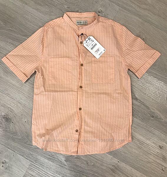 Новая рубашка Zara на мальчика 10 лет