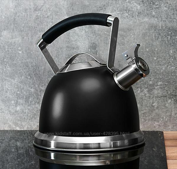 Чайник Ardesto BLACK Mars 2.5 л