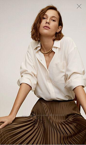 Блузка рубашка Mango рЛ