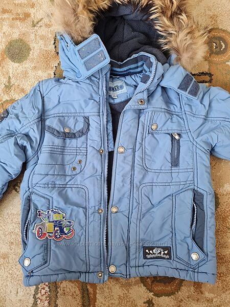 Зимняя куртка Donilo р.98 лыжные штаны Airwalk бу