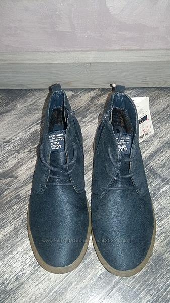 Стильные туфли для мальчика Cool club стелька 20 см.