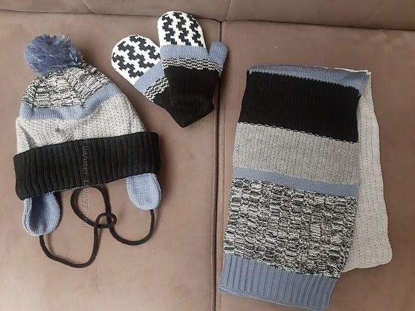 Шапка, шарф, рукавички Wojcik