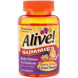 Nature&acutes Way Alive Витамины для детей, 60 шт