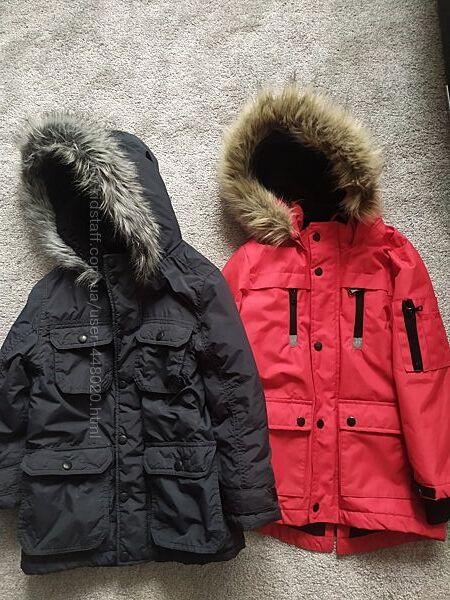 Парка куртка Rebel и John Lewis 6-7 лет