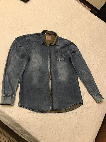 Рубашка джинс
