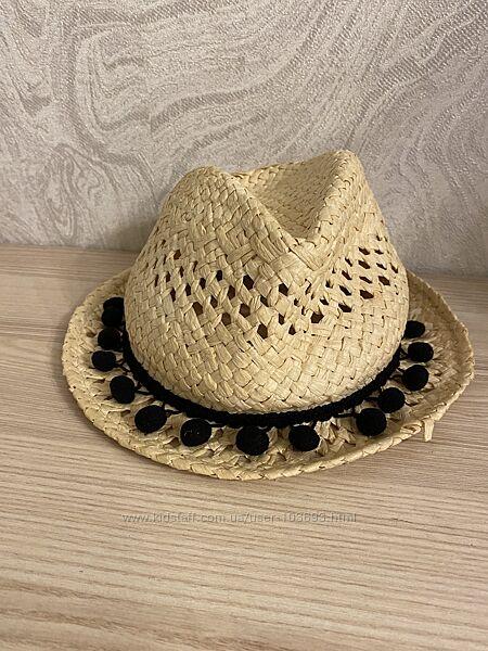 Соломенная шляпа h&m на 8-11 лет