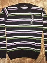 Новый мужской свитер пуловер Armani, L.