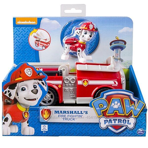 Щенячий патруль Маршал и Пожарная машина Paw Patrol Marshall Spin Master