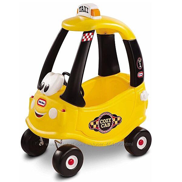 Машина Каталка Желтое такси Little Tikes Cozy Coupe 172175