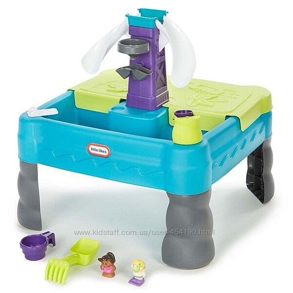 Игровой стол - песочница 2 в 1 с зоной для воды Little Tikes 641213M
