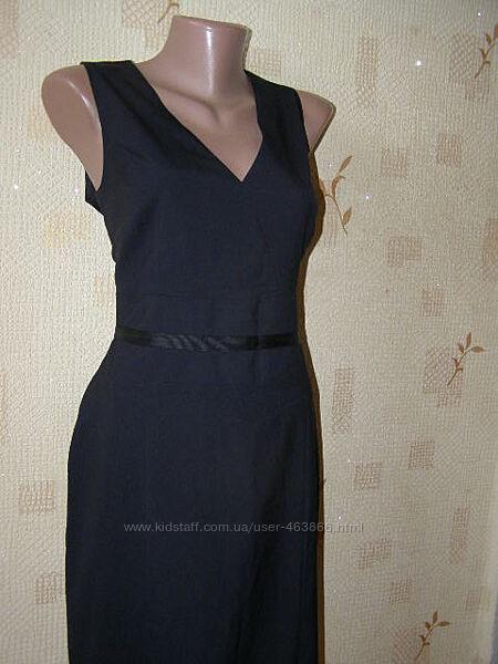 Rene Lezard  платье футляр миди шерсть деловой стиль M-L размер