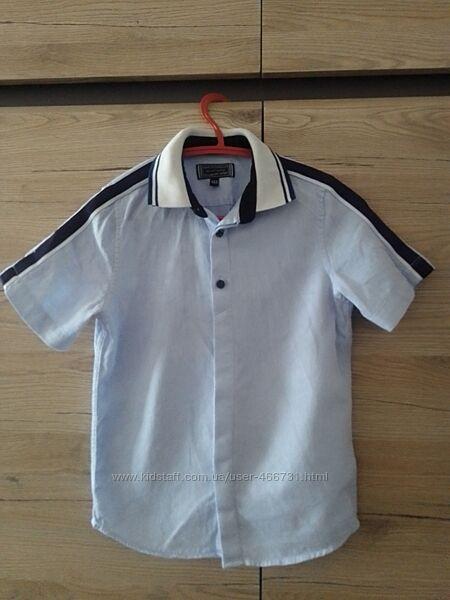Стильная рубашка поло c&a 116-122