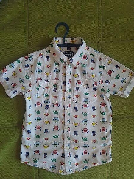Рубашка монстрики TU