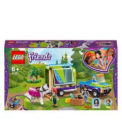 Конструктор LEGO Friends Трейлер для лошадки Мии 216 деталей 41371