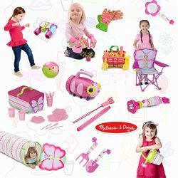 Пластиковые игрушки Melissa&Doug для пляжа и сада