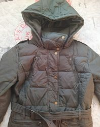 Пуховик, Tommy Hilfiger, пальто, парка, демисезон, зима, пух