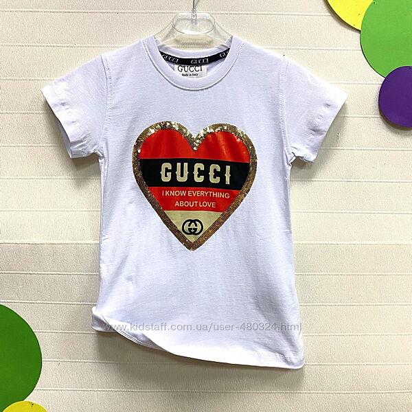 Футболка для девочек Gucci