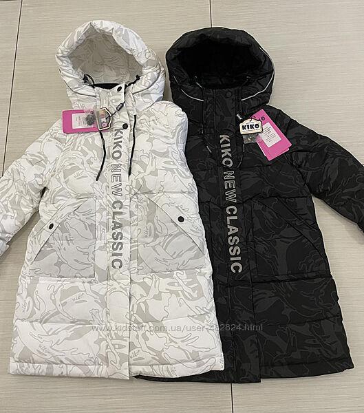 Новое зимние пальто на девочку Кико. Зима  2021