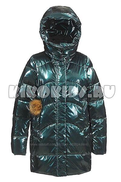 Новое зимнее пальто Анеруно на девочку модели 2021