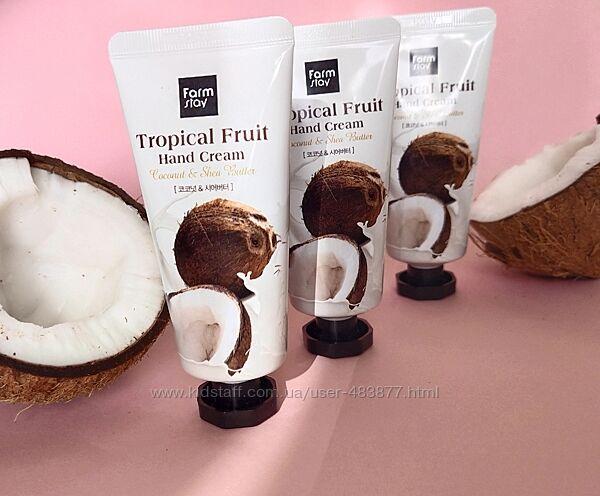 Крем для рук Farmstay кокосовый