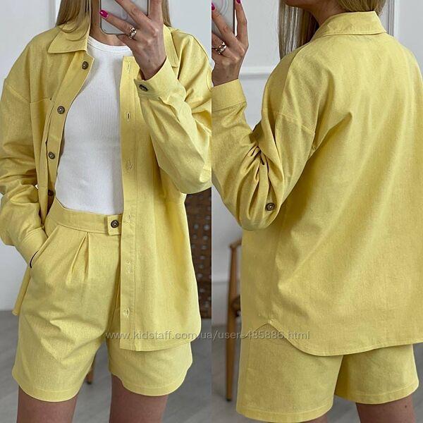 Костюм рубашка и шорты Мод. 0502