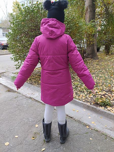 Зимнее пальто Trespass на девочку ростом 130 см, оригинал
