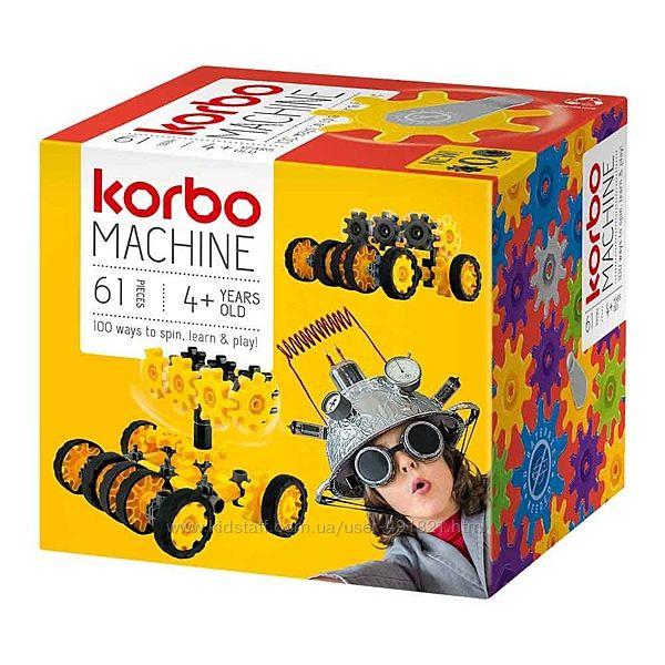 Конструктор динамический Korbo Machine 61 деталь развивающий