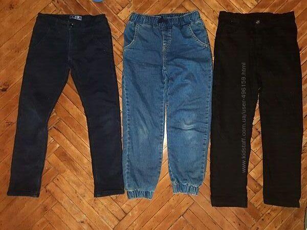 Джинсы, штаны на флисе, lcwaikiki 128-134-140, 8,9, 10 лет