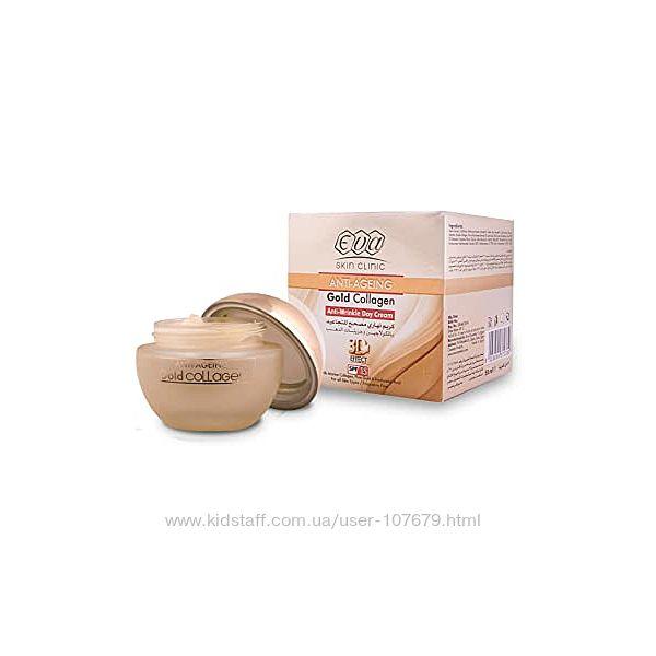 Крем Ева коллаген от морщин  Anti-Wrinkle Day Gold Collagen Египет