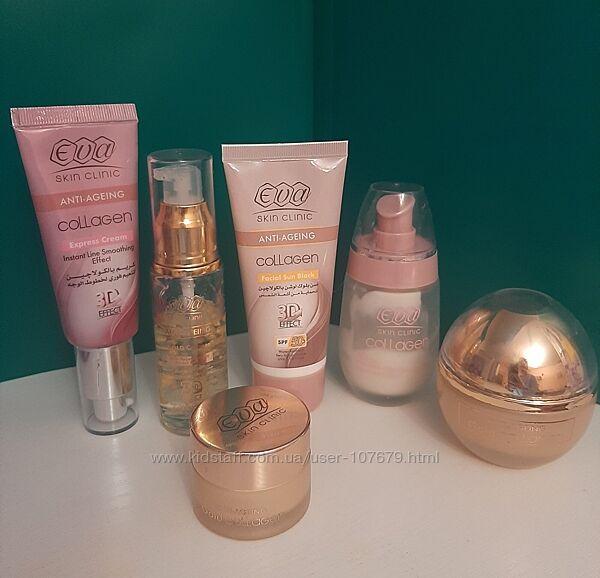 Косметика Ева Коллаген Египет, Eva Skin Clinic 3-D Collagen Gold