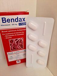 Bendax Бендакс эффективные таблетки от глистов Египет