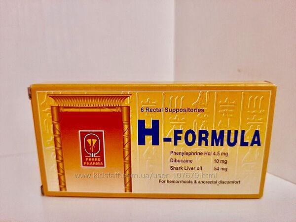 H-formula действенные свечи от геморроя Египет