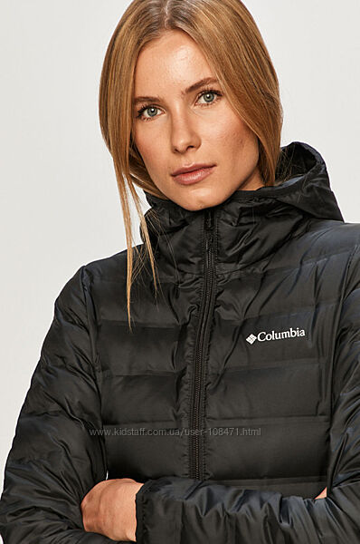 длинная куртка пуховик columbia