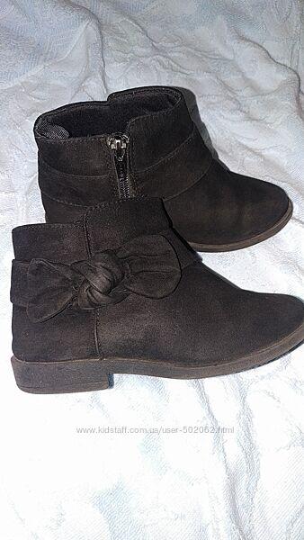 Осенние ботинки Gymboree 18см