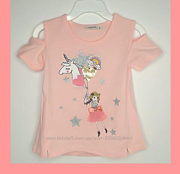 Красивые футболочки для девочек