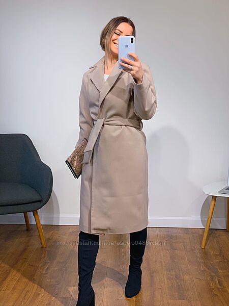Женское кашемировое облегчённое пальто, разные цвета,  универсальный размер