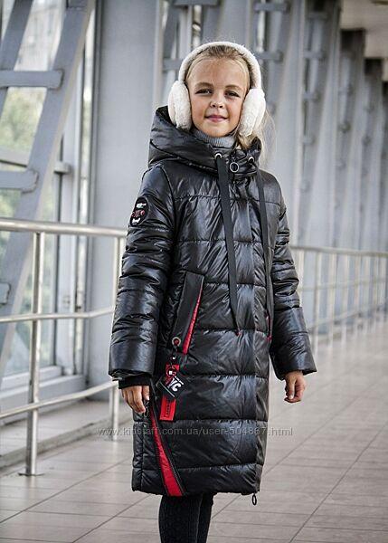 Зимнее подростковое удлиненное пальто, разные цвета, от 134-152см