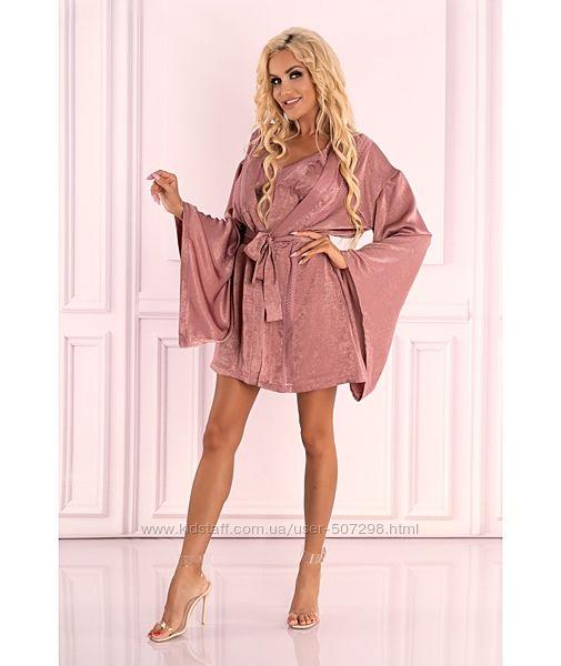Faomi шикарный халат с широким рукавом Faomi