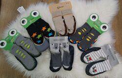 Махровые носочки-чешки для мальчика