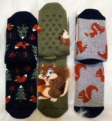 Махровые носки Bross с тормозами для мальчика