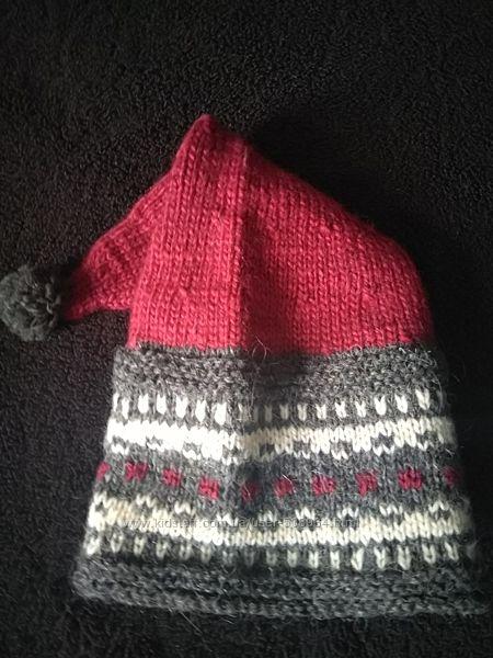 Новая Шапка нарядная зимняя праздничная шерсть