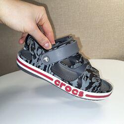 Сандали крокс Crocs Kids Bayaband Sandal, размер  С13, J1, J2, J3 оригинал
